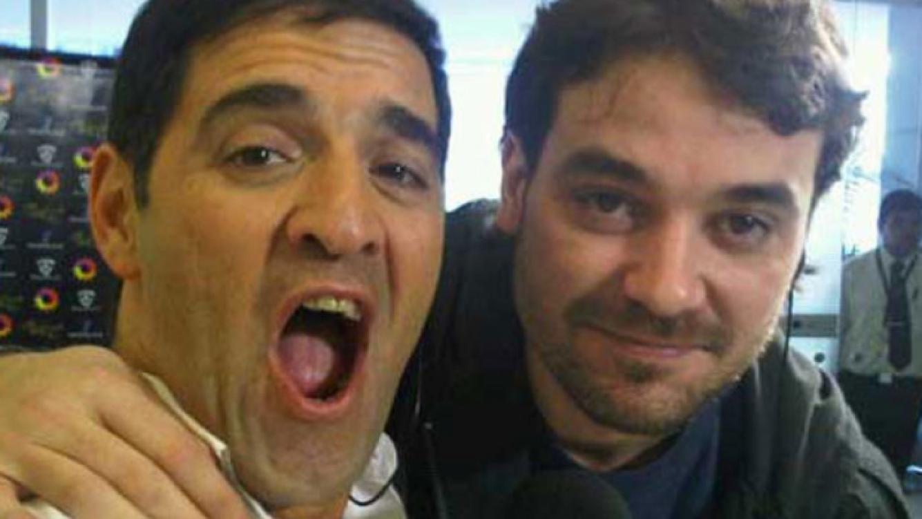 Mariano Iúdica y Peter Alfonso: para ellos el humor es lo primero.