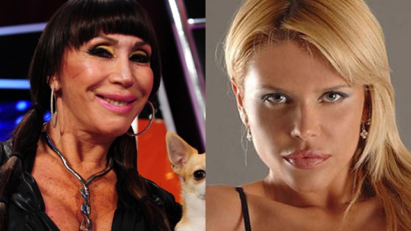 Nazarena Vélez, indignada con Moria Casán. (Foto: Web)