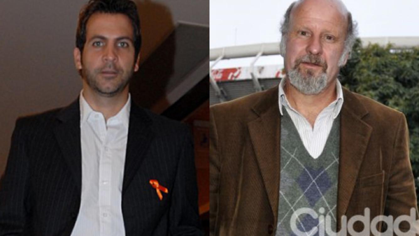 El Toti y el Tano Pasman, primos segundos. (Foto: Web y Jennifer Rubio)