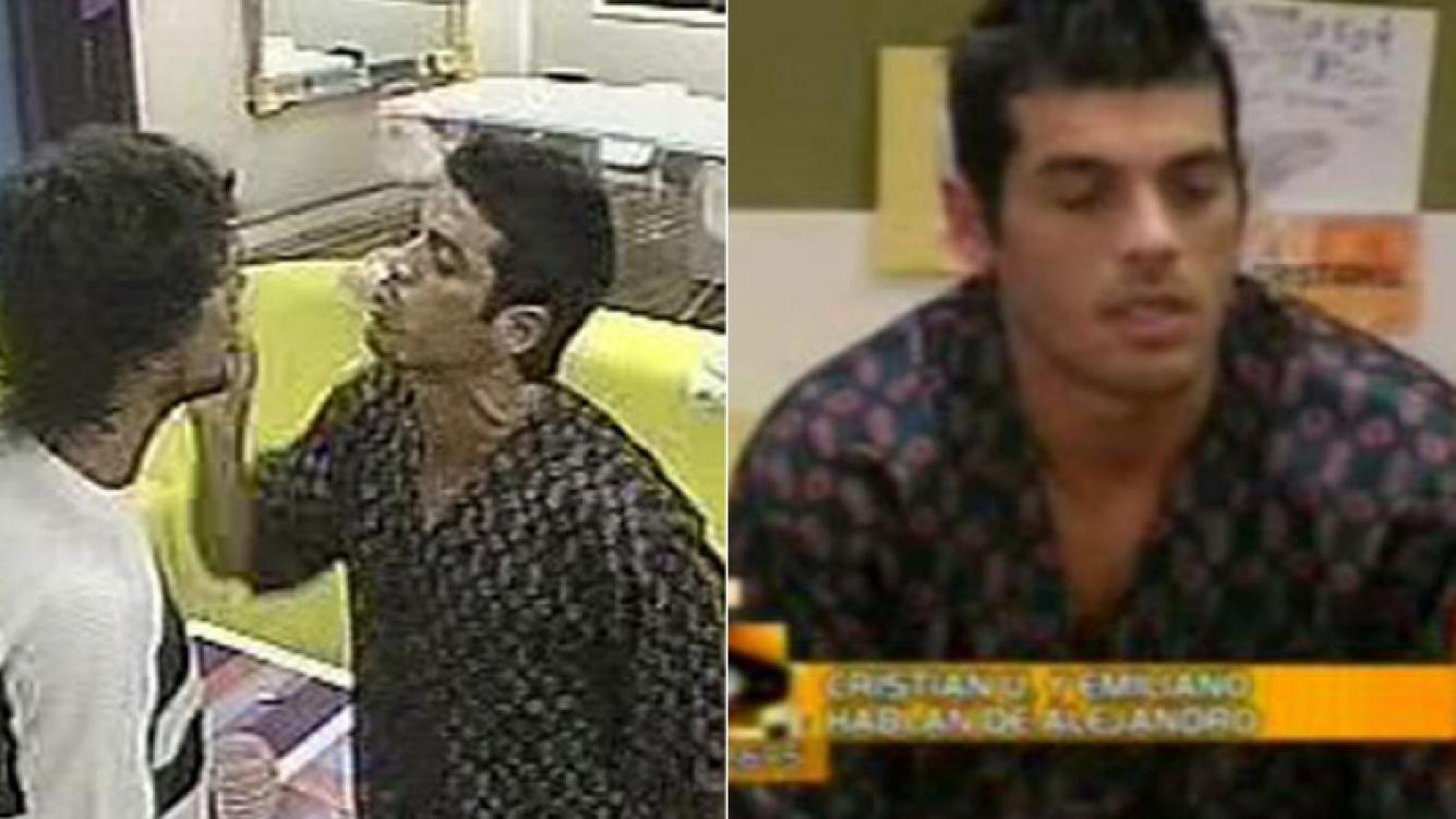 El famoso pijama de Cristian U.: pelea con Jonatan y fastidio, entre otras situaciones.