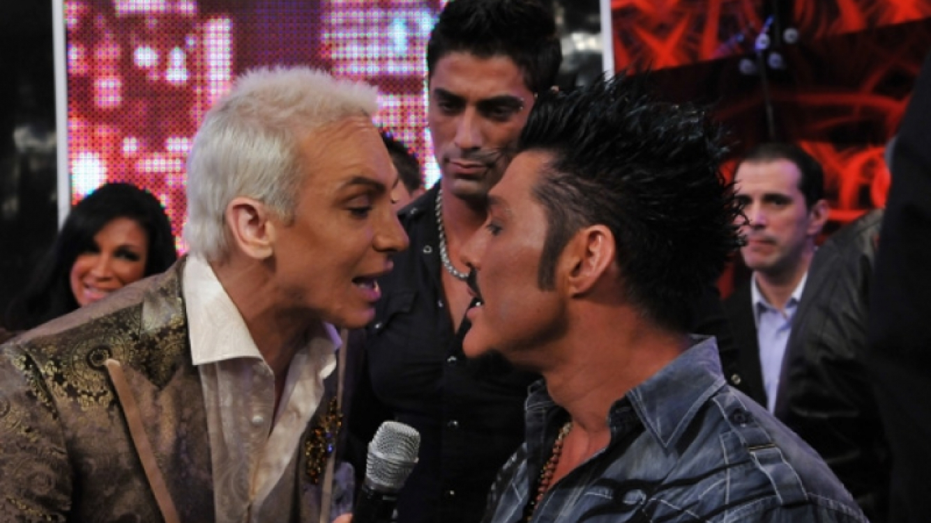 Ricardo Fort y Flavio Mendoza, duro frente a frente. (Foto: Ideas del Sur)