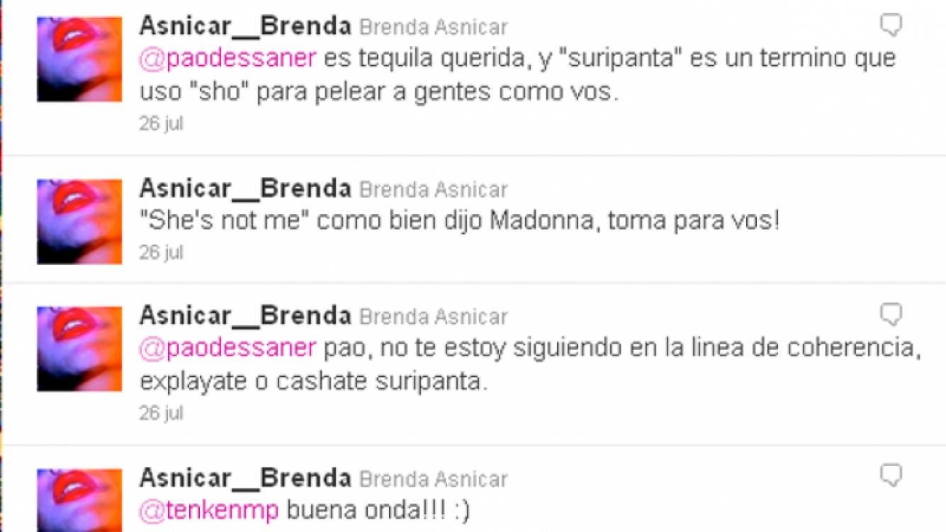 El tweet de Asnicar que generó suspicacias (Foto: Twitter).