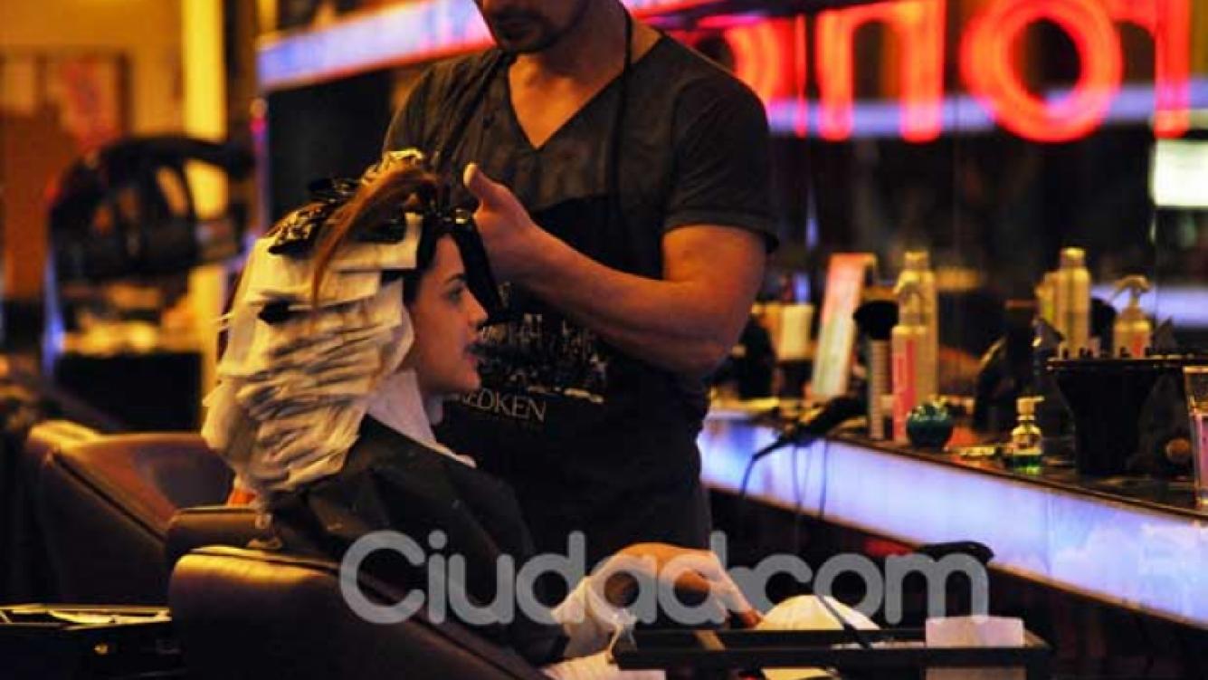 Calu Rivero se cambió el look. (Foto: Jennifer Rubio)