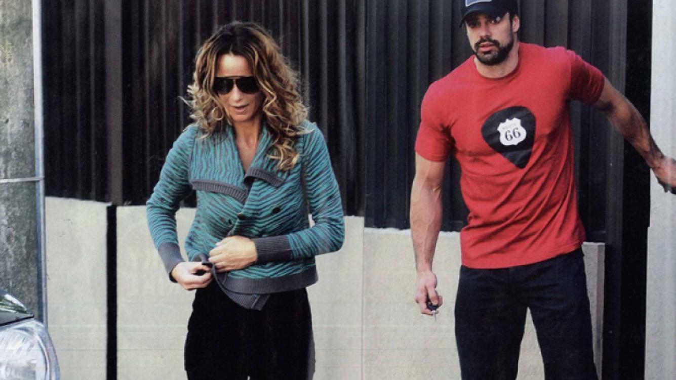 Sabrina Rojas y Luciano Castro, juntos. (Foto: revista Caras)