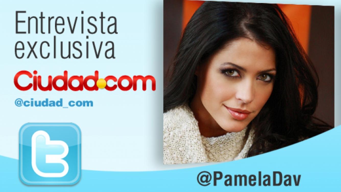 La conductora y modelo, en una charla exclusiva con Ciudad.com