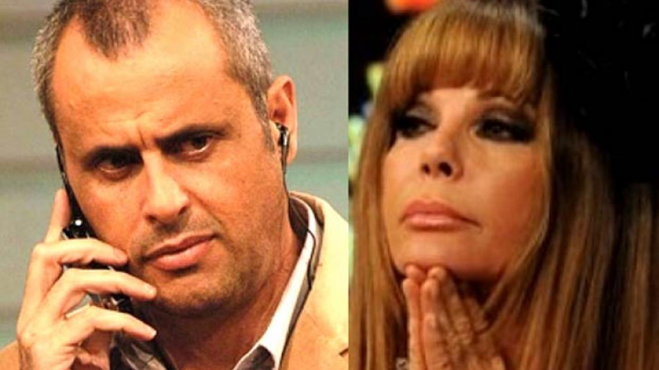 Graciela Alfano y Jorge Rial: guerra feroz por Twitter. (Fotos: Web)