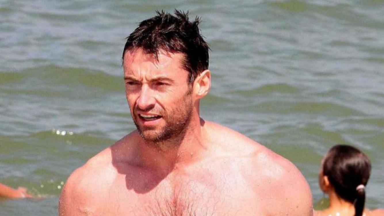 Hugh realizó actividades en el mar y jugó con sus hijos. (Fotos: Southern Press)