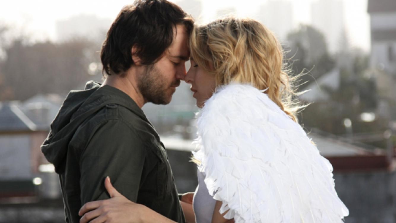 Ana (Carla Peterson) y Dante (Gastón Pauls) en el final de su historia de amor