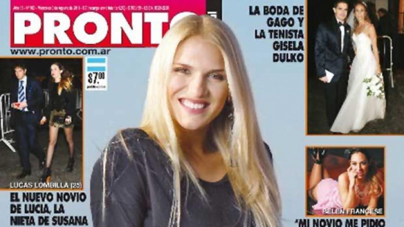 Carolina Oltra confesó que tiene un hermanastro al que no la dejan conocer. (Foto: Portada Pronto.)