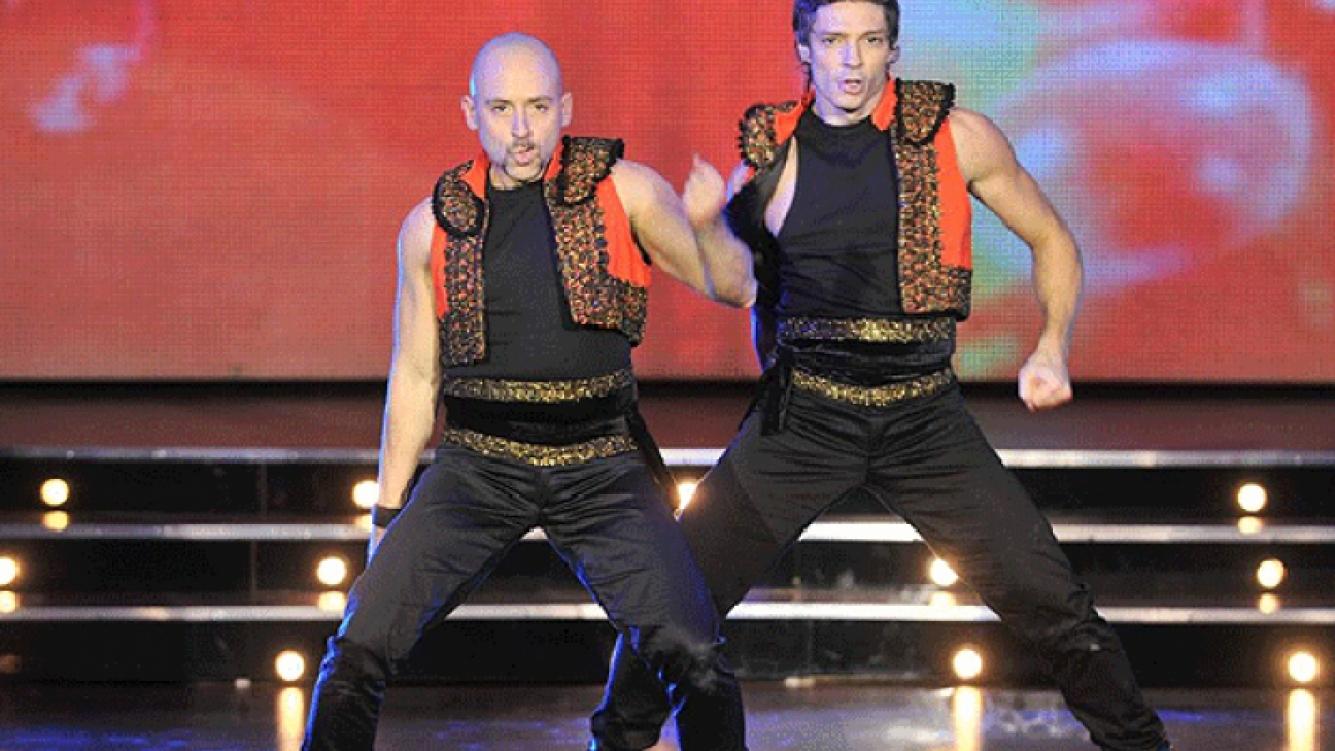 Muscari conforma la primera pareja de hombres en Bailando. Y sin polémica.