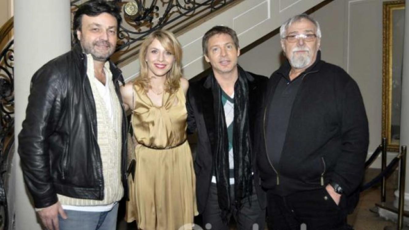 Marcos Carnevale, Carla Peterson, Adrían Suar y Lino Patalano. (Foto: Jennifer Rubio)