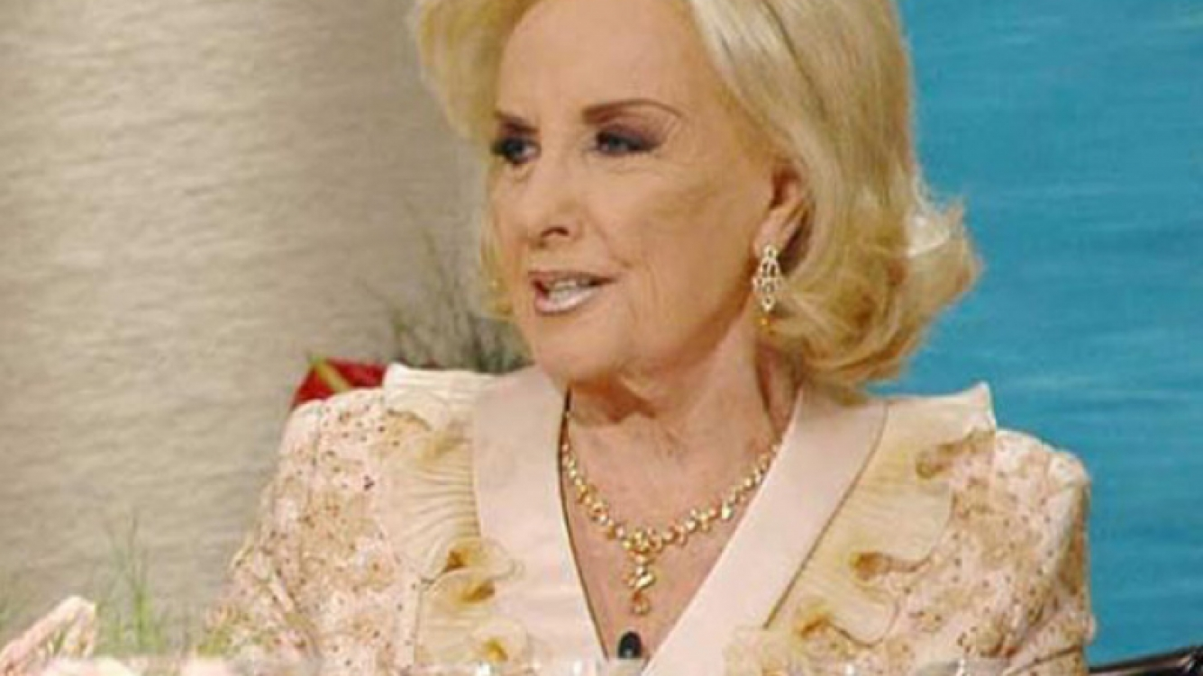 Mirtha Legrand. (Foto: Web)