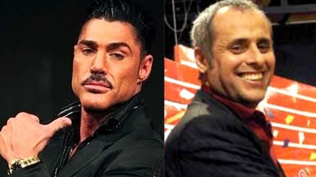 Ricardo Fort y Jorge Rial. (Fotos: Web)