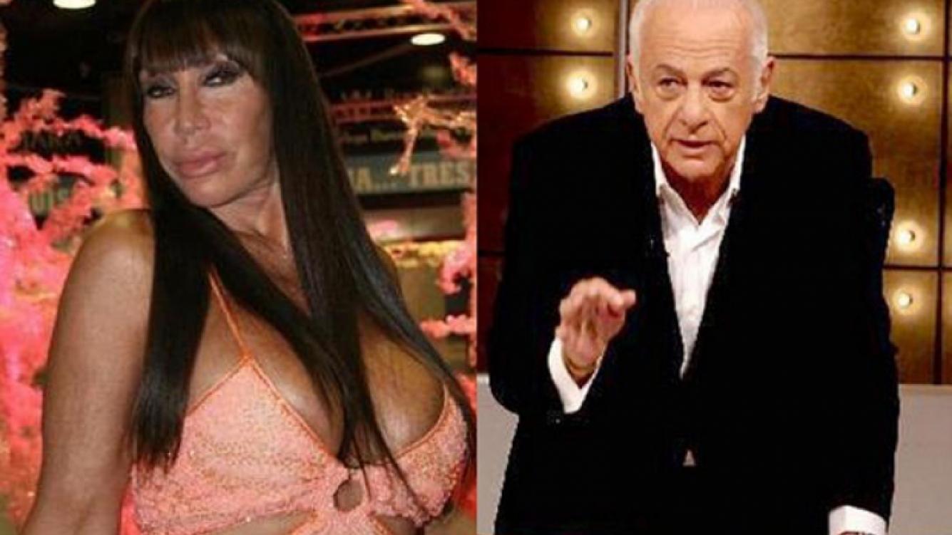 Moria y Sofovich: de enemigos a íntimos. (Foto: Web)