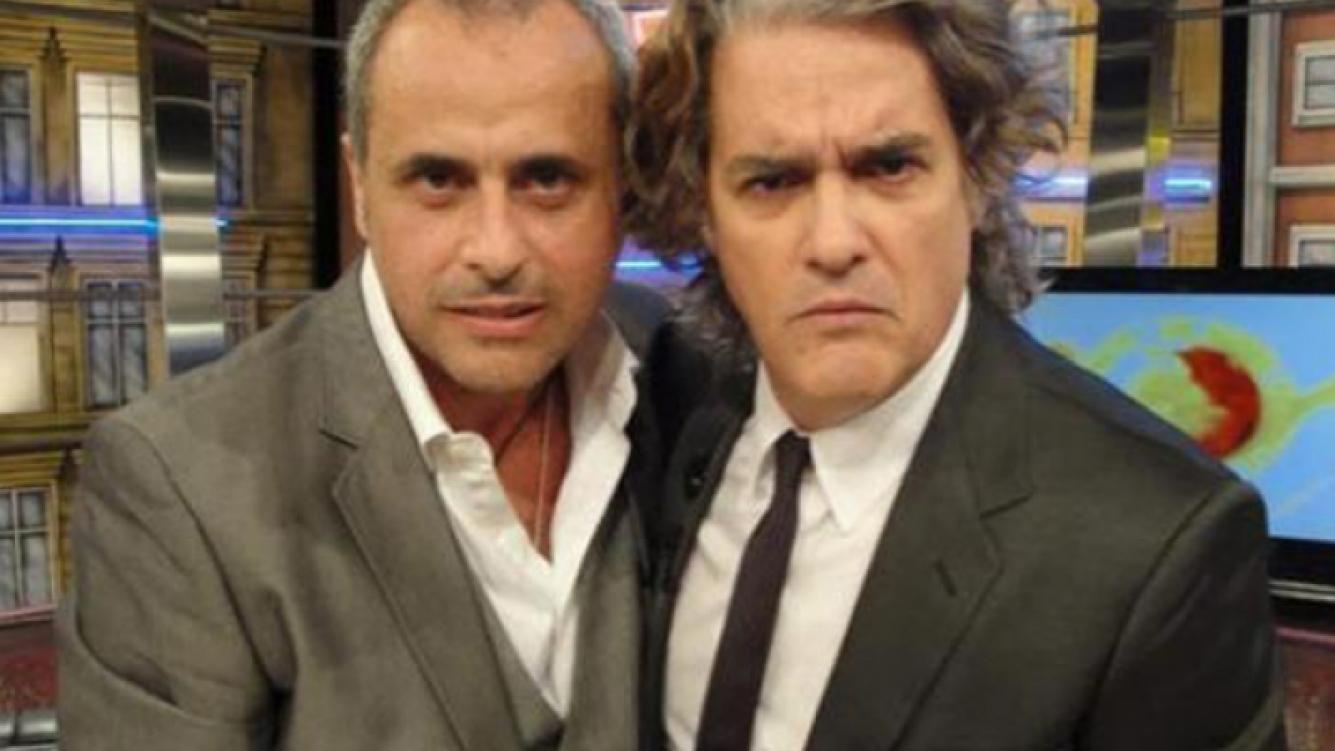 Jorge Rial y Roberto Pettinato. (Foto: Web)