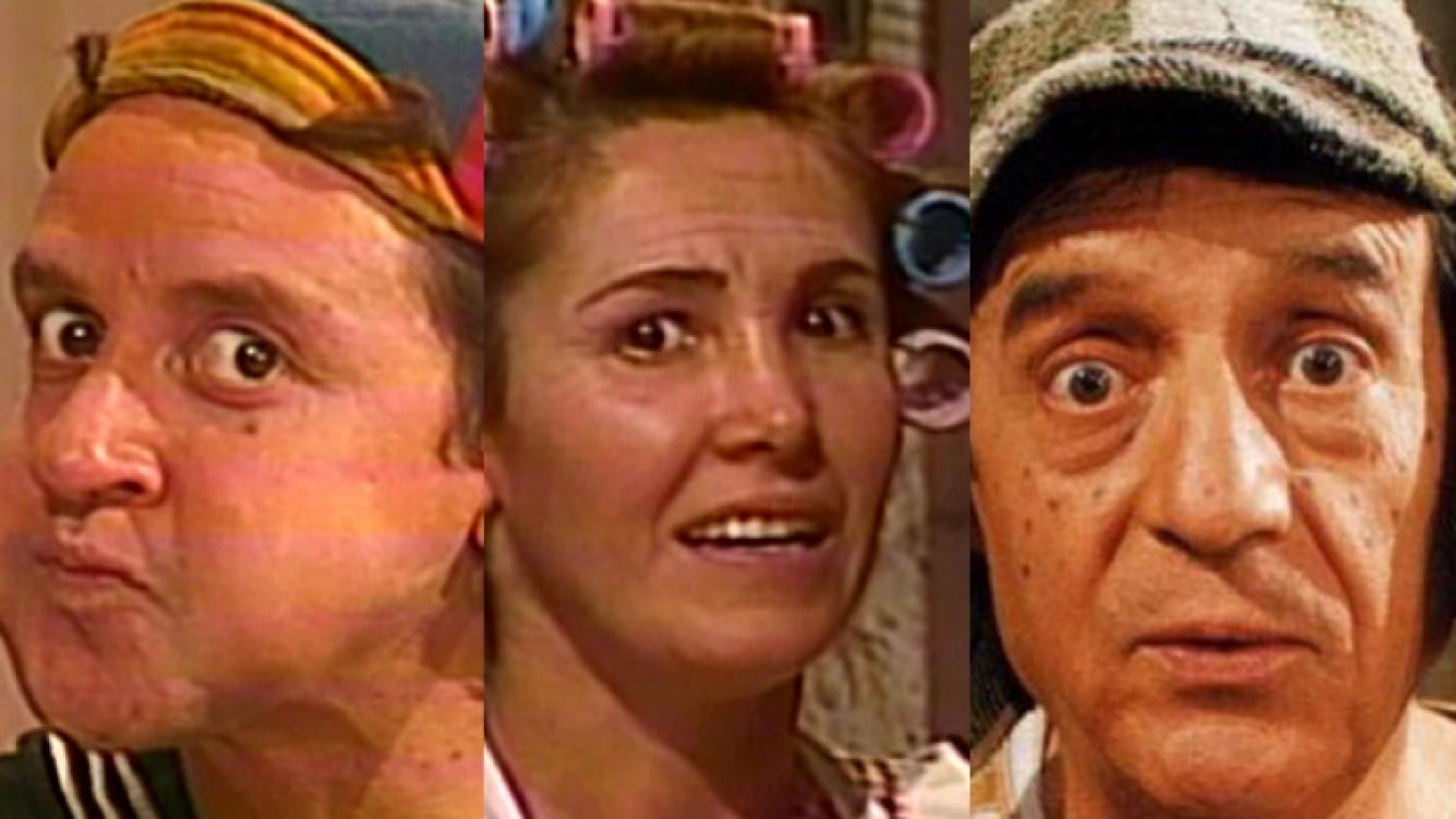 Quico, Doña Florinda y El Chavo. (Foto: Web)
