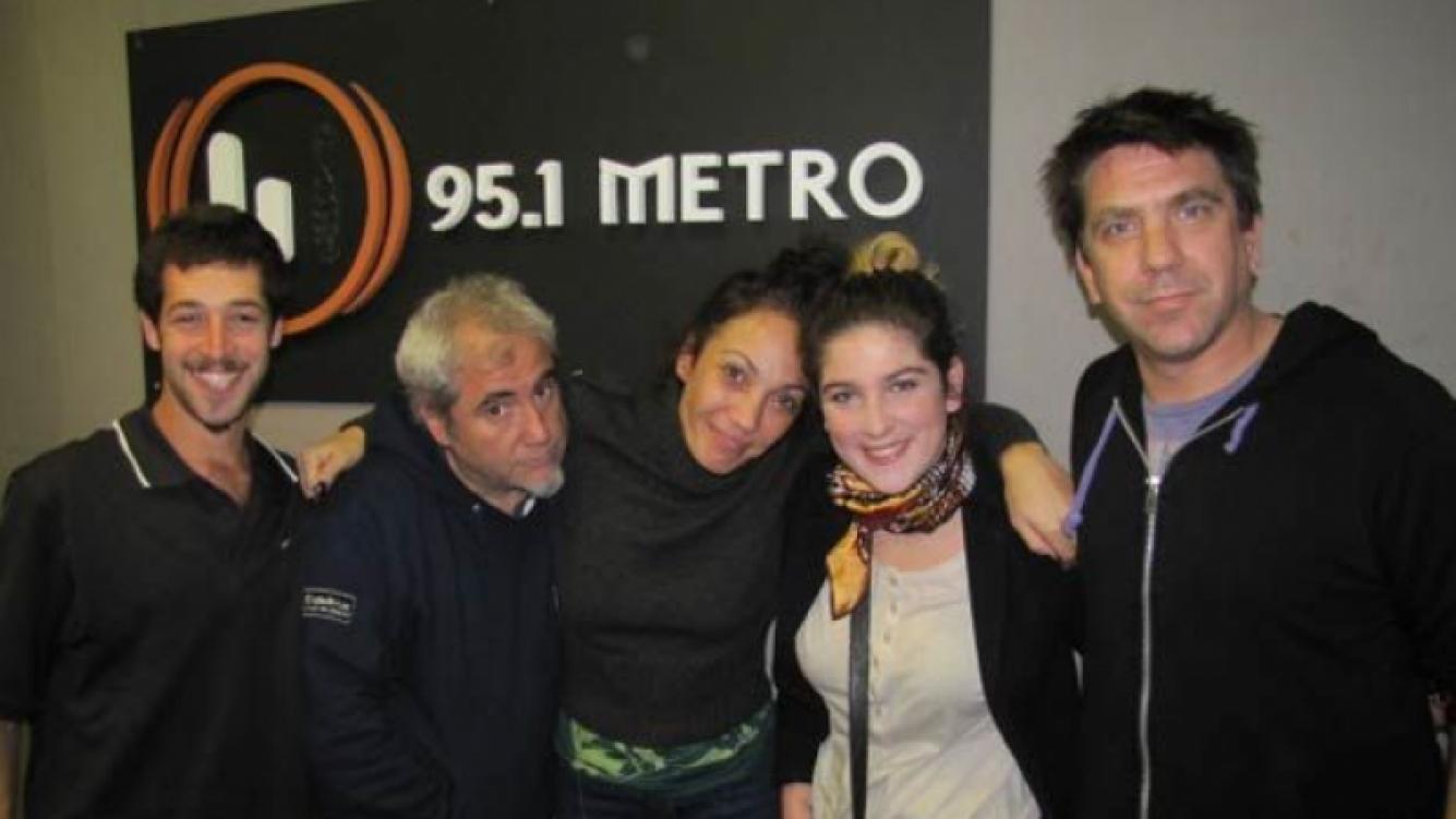 Juana Repetto visitó a Ernestina Pais en Día Perfecto. (Foto: FM Metro)