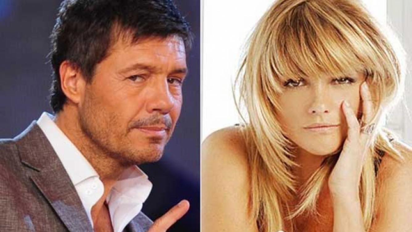 La reunión secreta de Marcelo Tinelli y Araceli González. (Foto: Web)