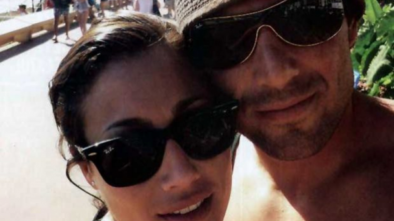 Miguel Avramovic y Mercedes Oviedo en la Costa Azul. (Foto: Caras)