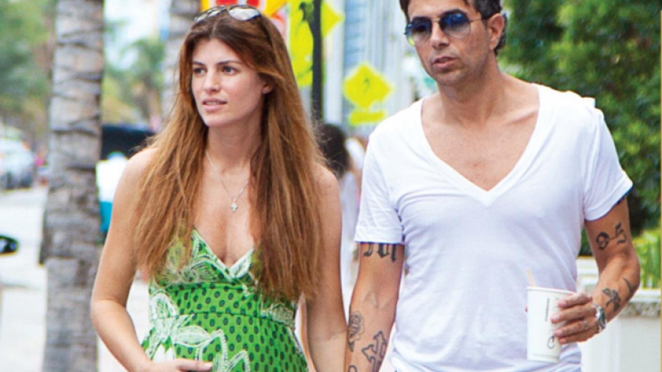 Daniela Urzi y Pablo Cosentino. (Foto: revista Hola)