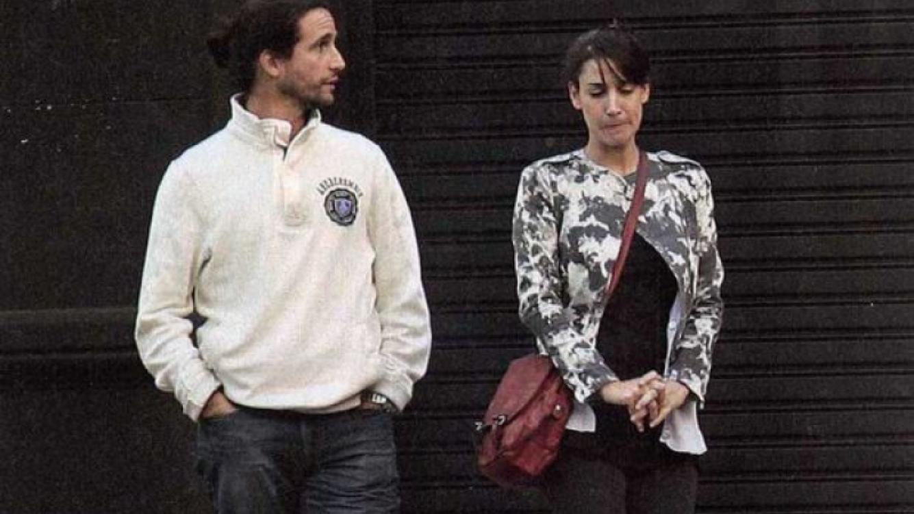 Darío Giordano y Miren Algañarás. (Foto: Revista Paparazzi).