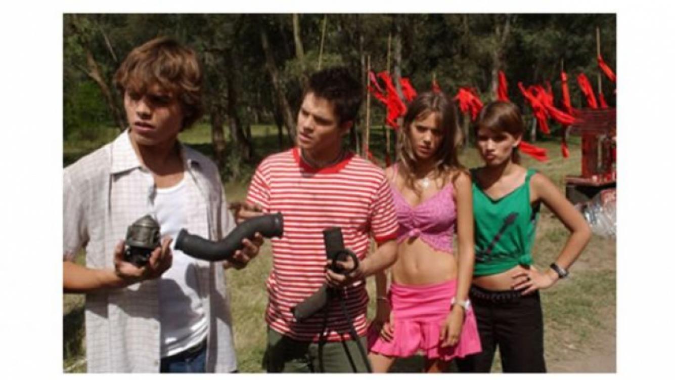 Camila cuanco actuaba en la tele, junto al elenco de Rebelde Way. (Foto: Web)
