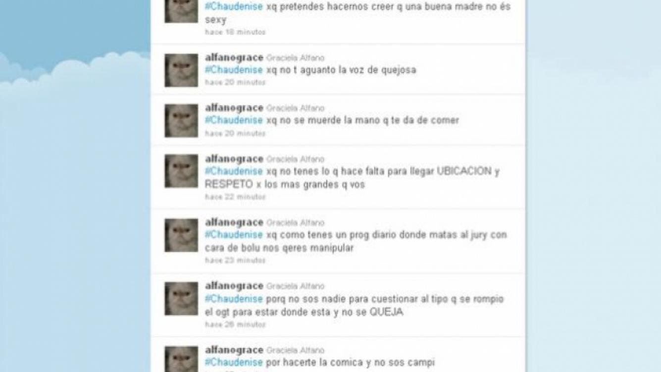 Captura del perfil de @alfanograce. (Foto: Twitter)