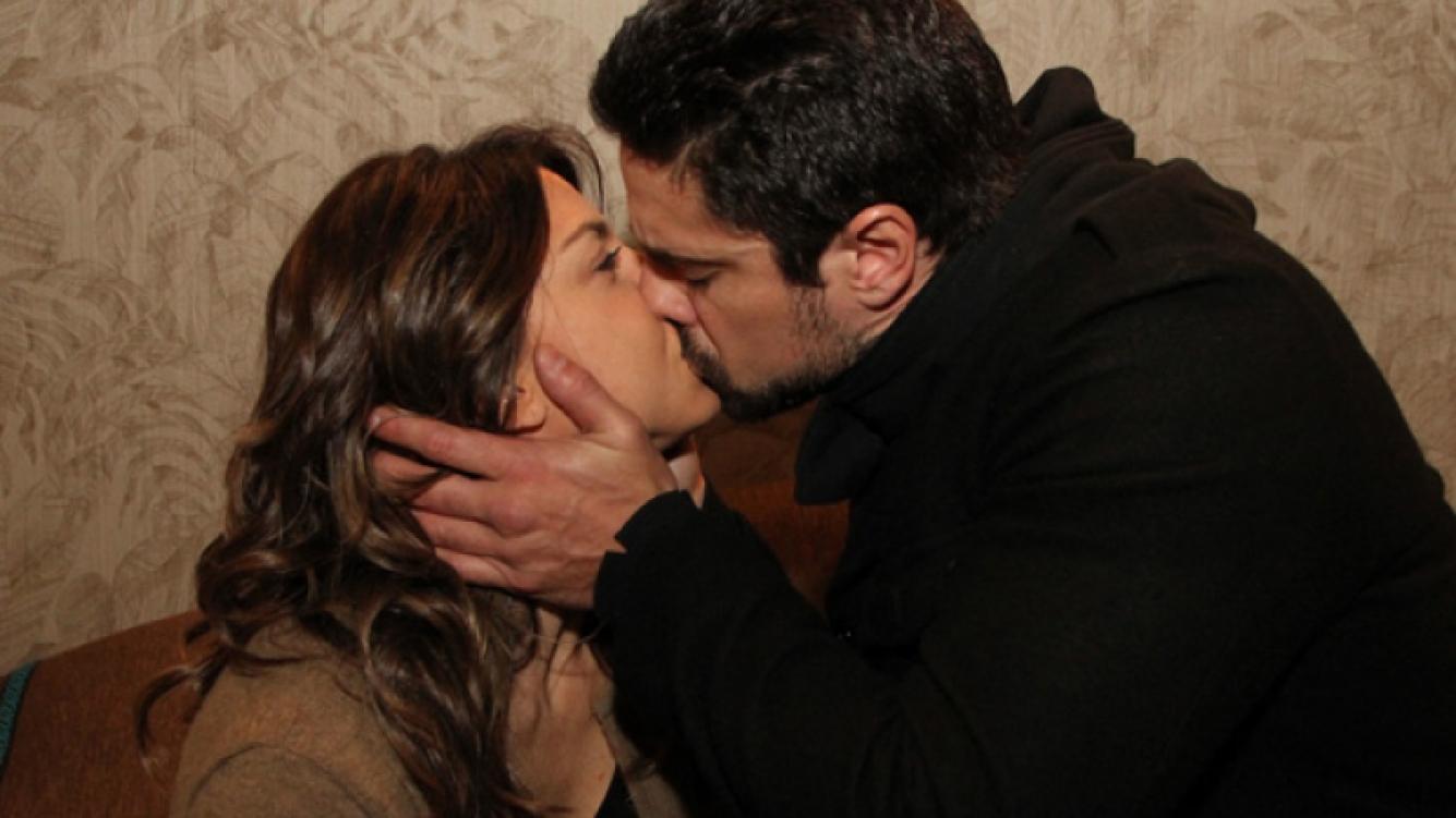 El beso más esperado. (Foto: El Trece)