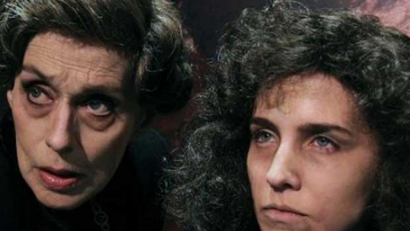 Medina y Fandiño, y su look con peluca descuidada. (Foto: Pr. Raquel Flotta).