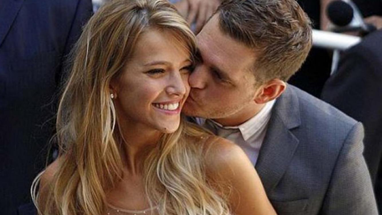 Mike y Luli, felices en su casamiento. (Foto: Web)
