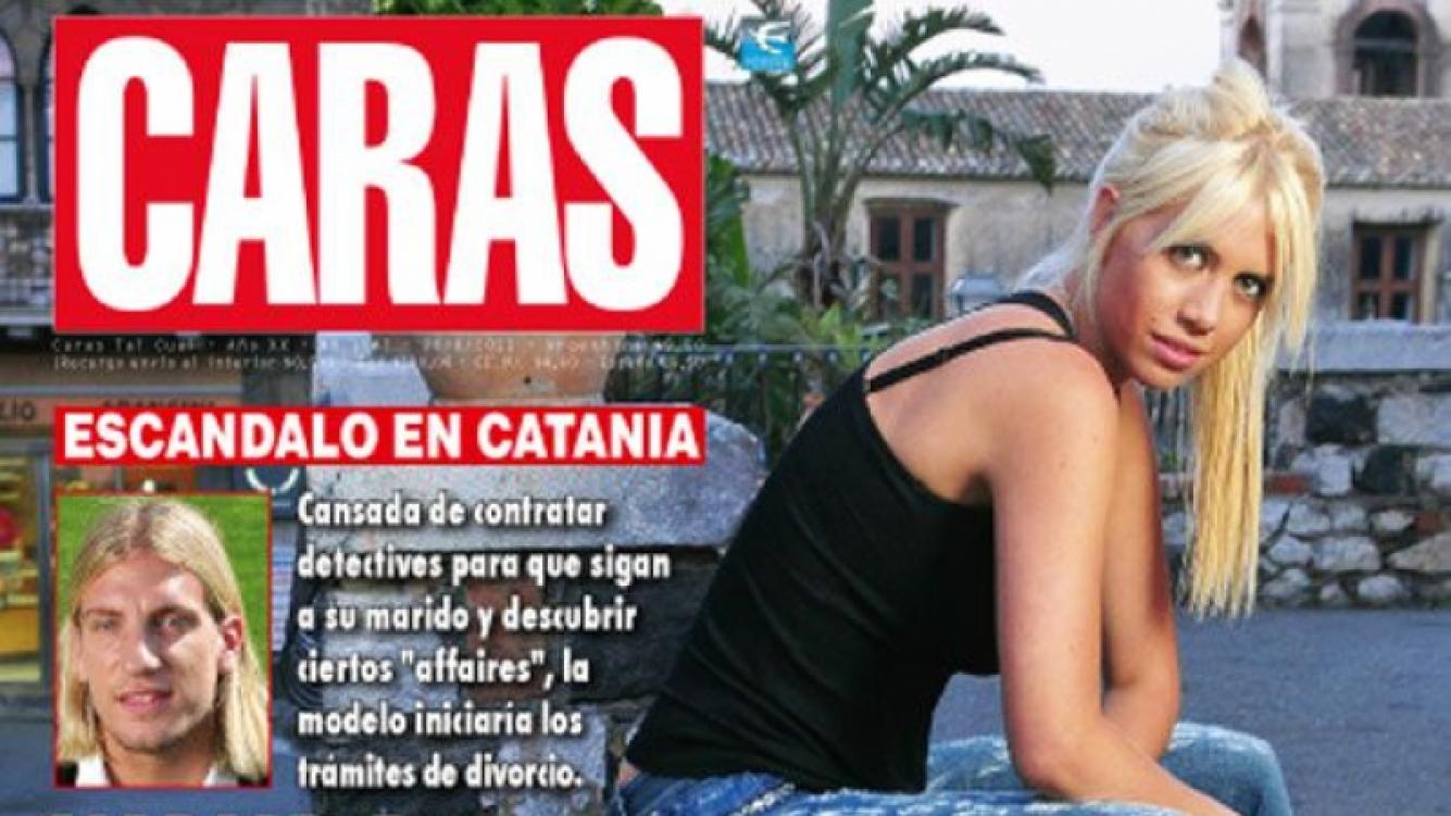 La tapa de la revista Caras con el rumor de separación de Wanda.