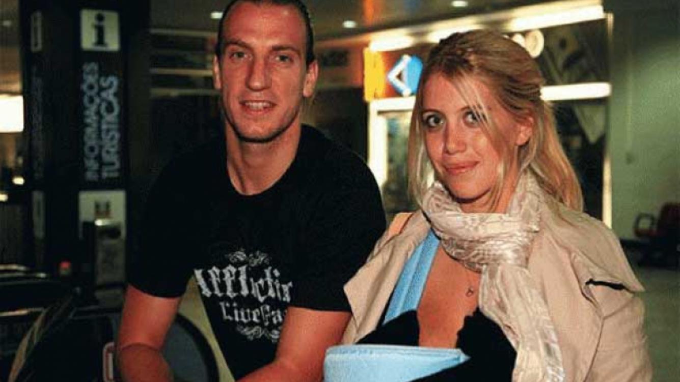 Maxi López y Wanda Nara. (Foto: Web).