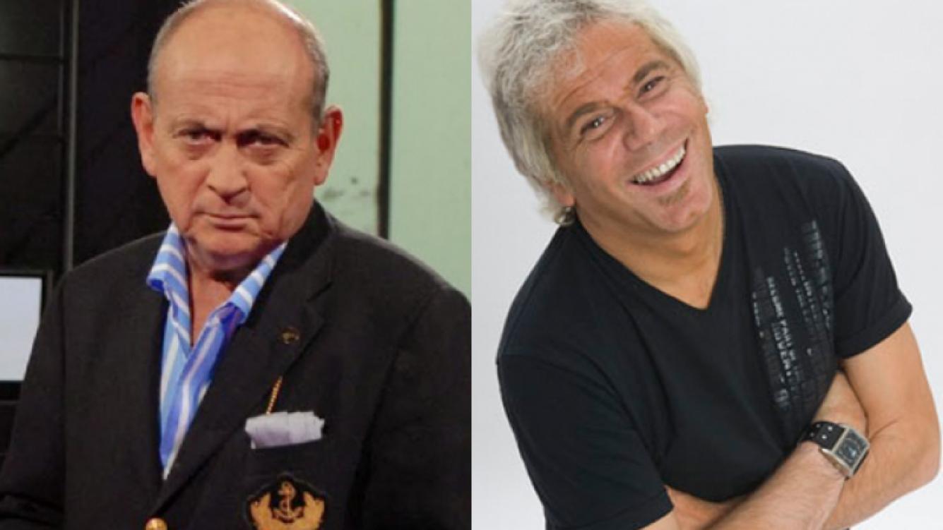 Chiche Gelblung y Beto Casella. (Foto: Web)