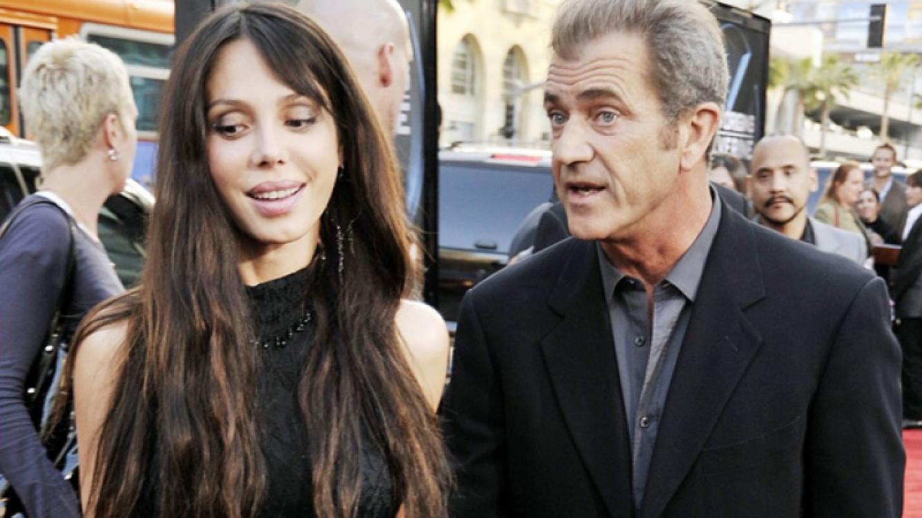 Oksana Grigorieva y Mel Gibson. (Foto: Web)