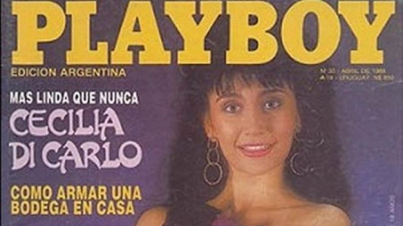 La novia de Horacio Pagani, cuando fue tapa de Playboy. (Foto: Web)