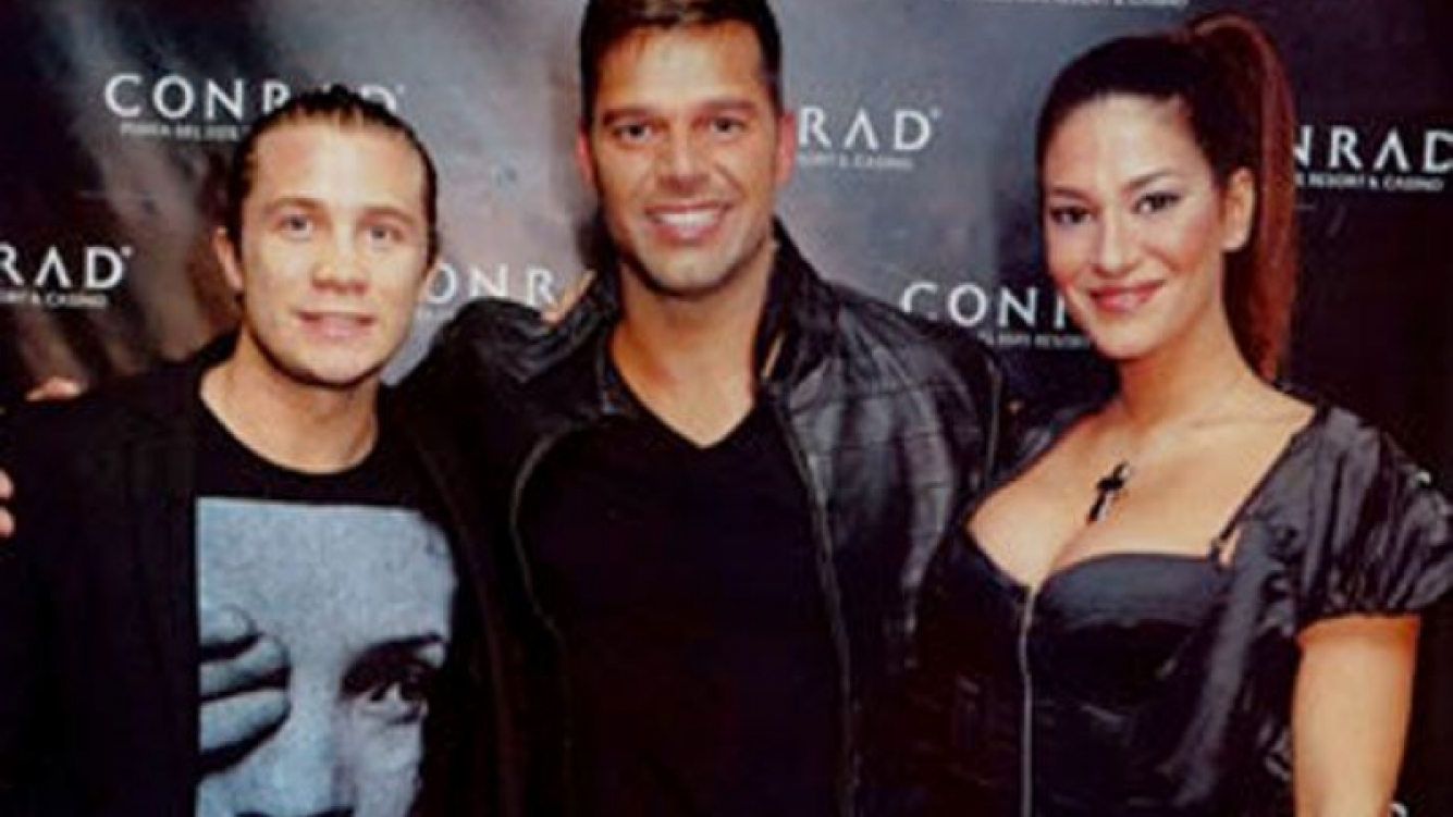 Nico sorprendió a Silvina y la llevó a ver a Ricky Martin. (Foto: revista Caras)