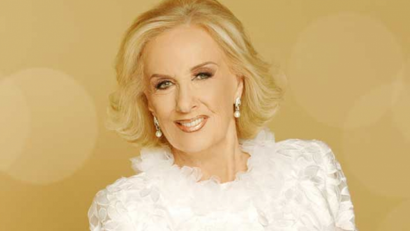 Mirtha Legrand. (Foto: Web).