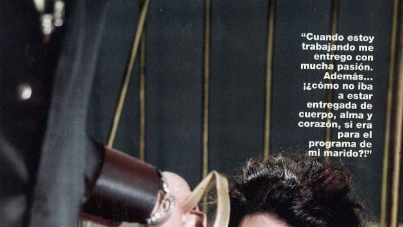 Muy hot, Florencia se puso en la piel de una pantera indomable (Foto: revista Gente)