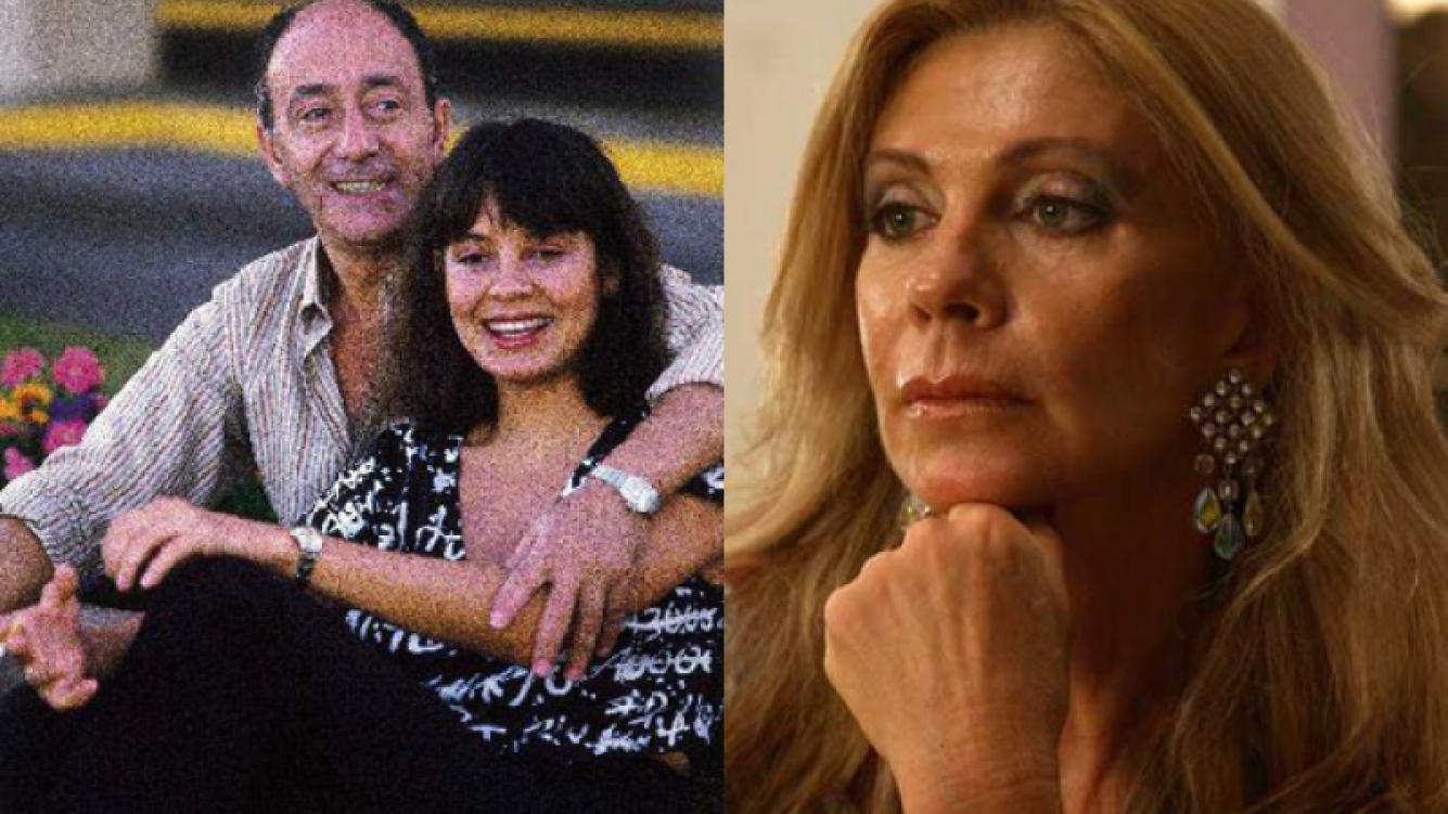El Negro Olmedo y Nancy Herrera. Del otro lado, Silvia Pérez. (Foto: Web)