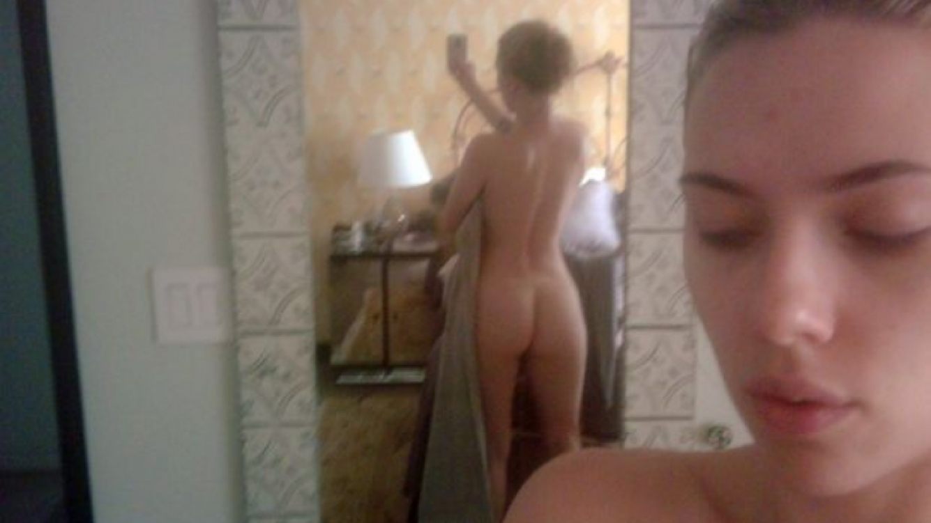 Scarlett Johansson, desnuda. (Foto: Web)