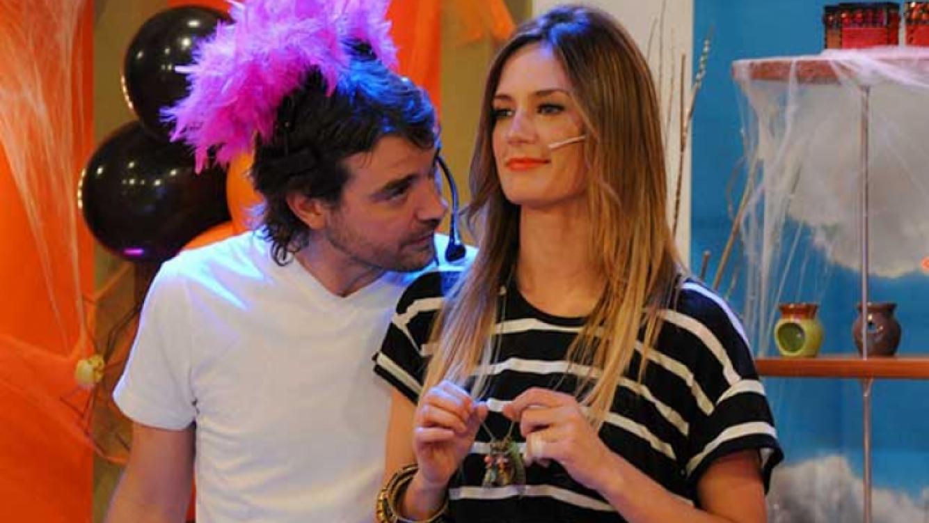 Paula Chaves y Pedro Alfonso. (Foto: Web)