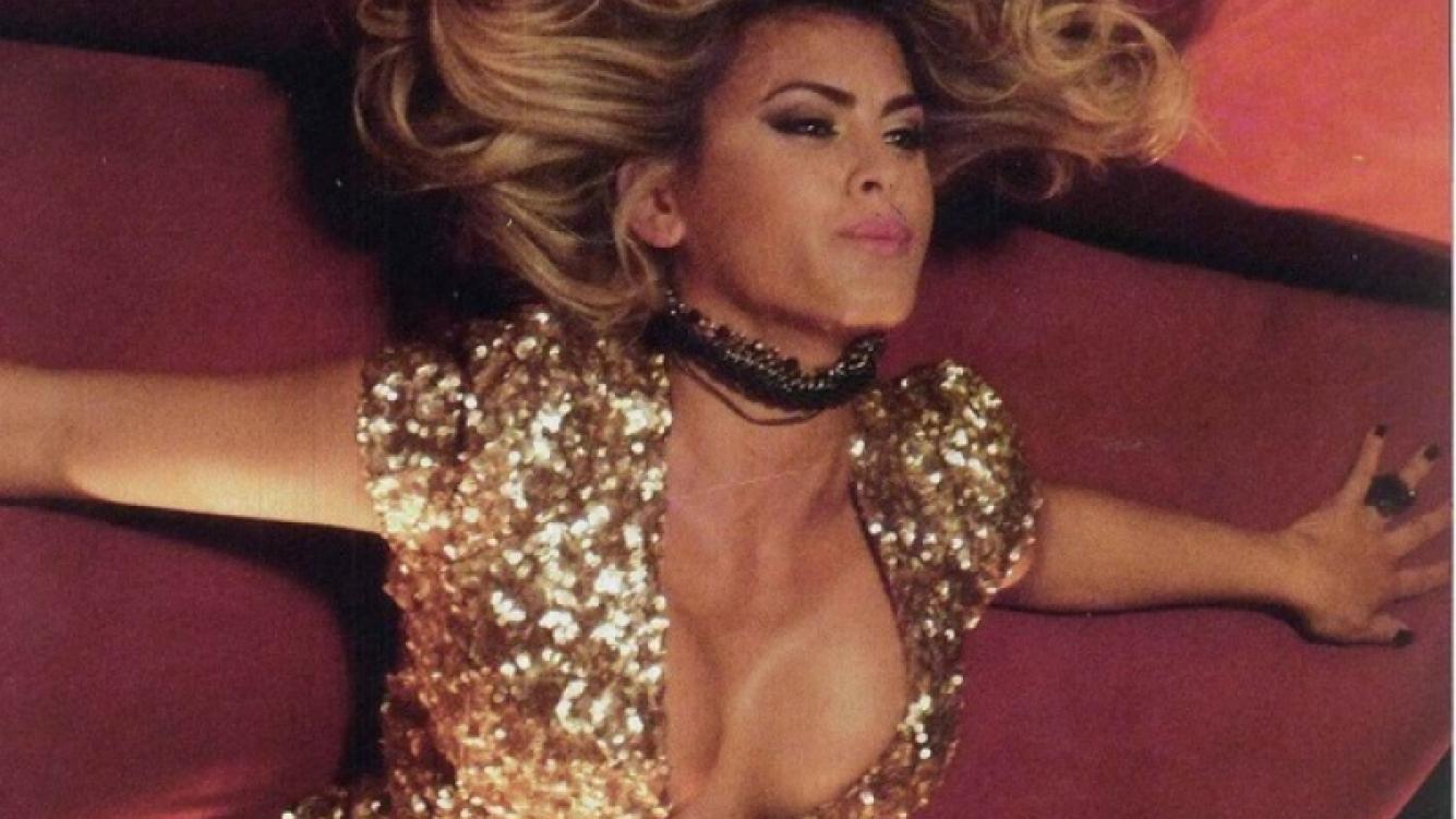 Silvina Luna, con look rubio, protagoniza este shot film bien hot. (Foto: Caras)