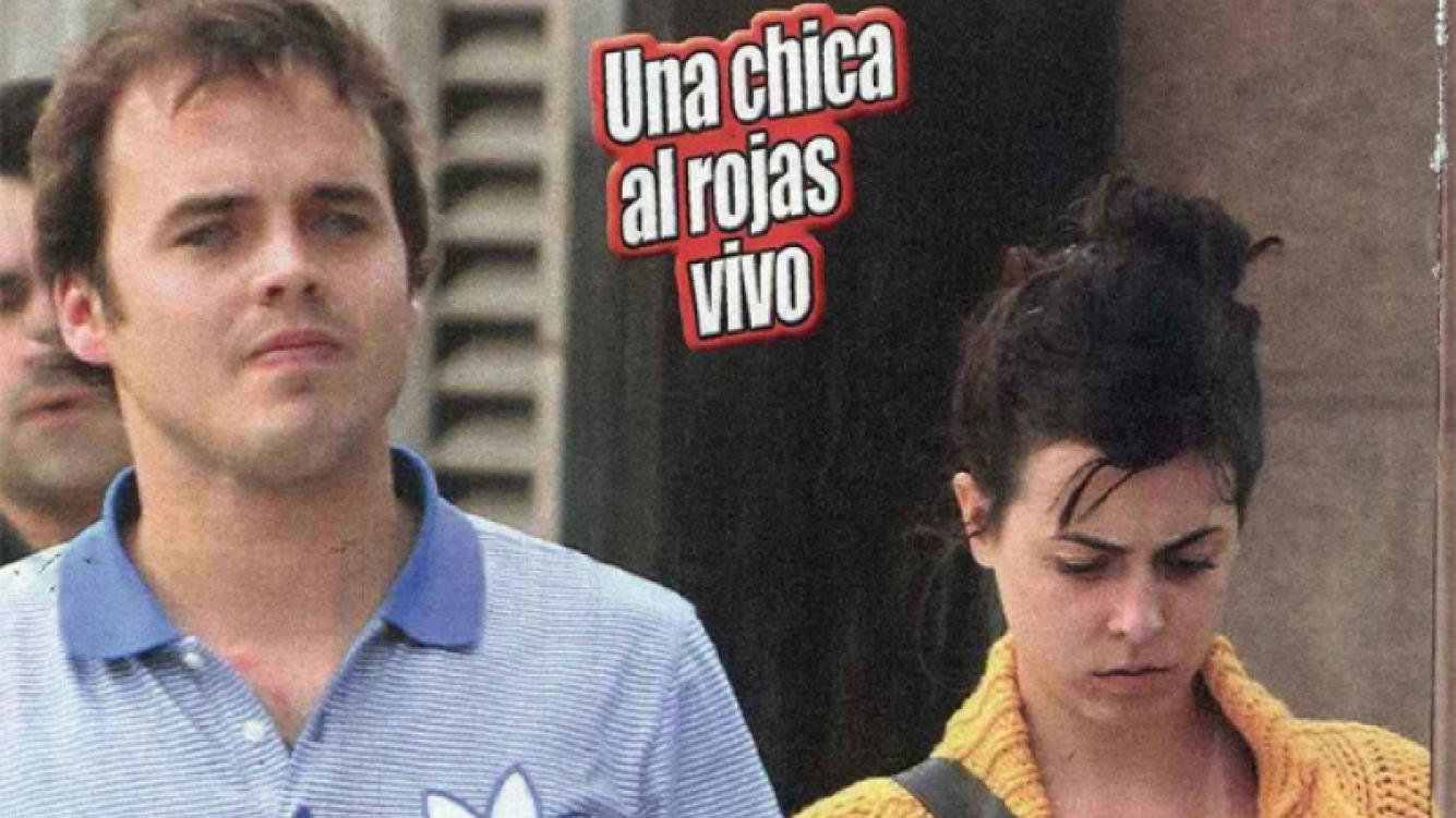 Benjamín Rojas, serio pero bien acompañado. (Foto: revista Paparazzi)