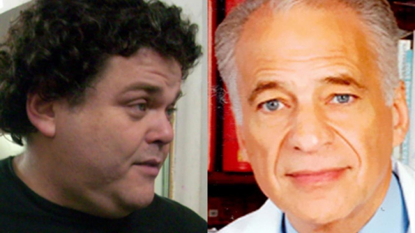 La pelea menos pensada: Alberto Cormillot vs. Alfredo Casero. (Foto: Web)