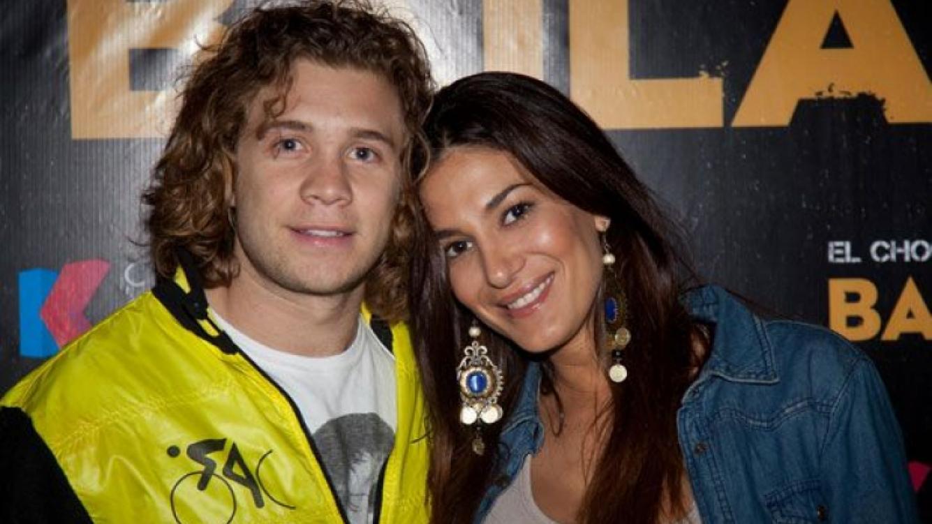 """Nicolás """"Tacho"""" Riera y Silvina Escudero: ¡juntos! (Foto: .Tiff)"""