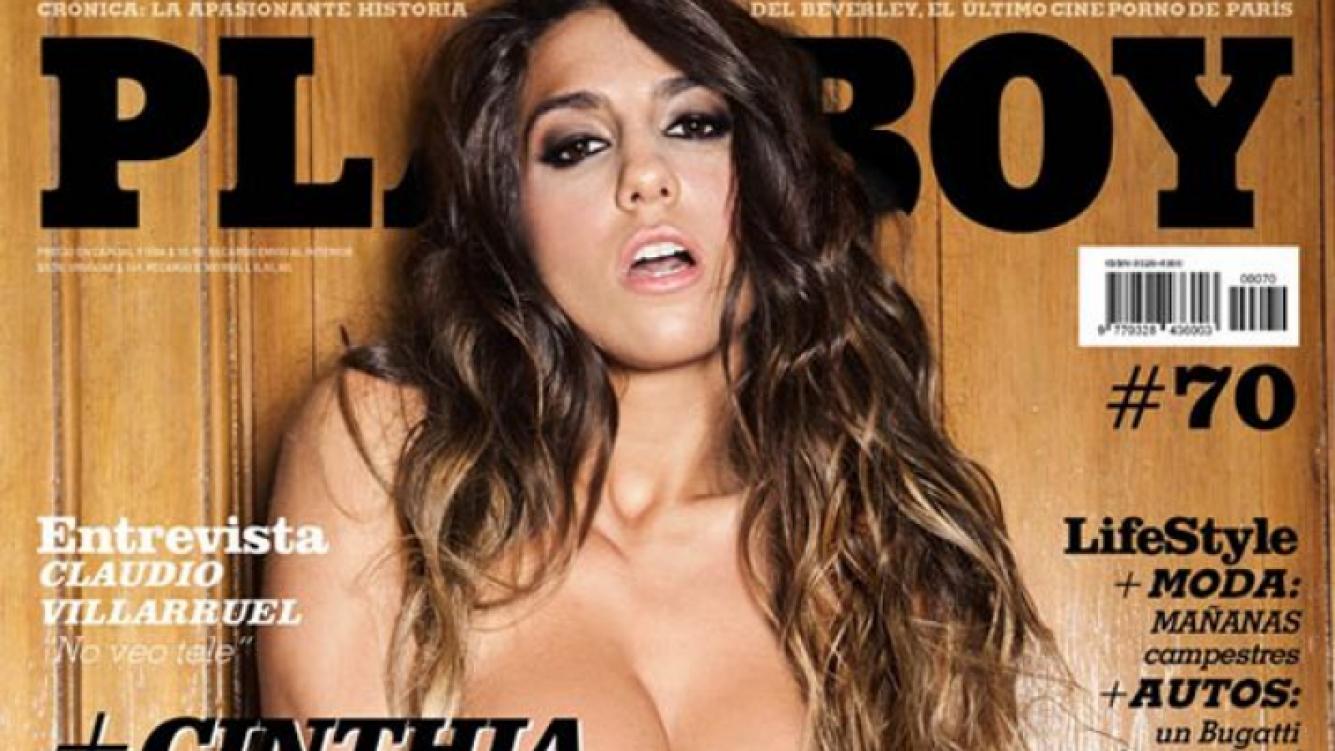 La tapa de octubre de 2011 para la revista Playboy.