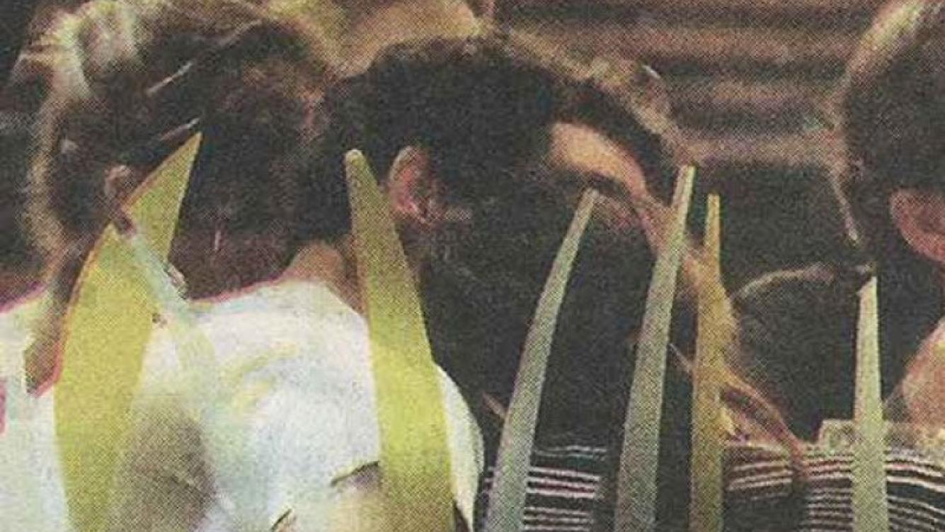 Gonzalo Valenzuela y Juana Viale, muy mimosos. (Foto: Diario Muy)
