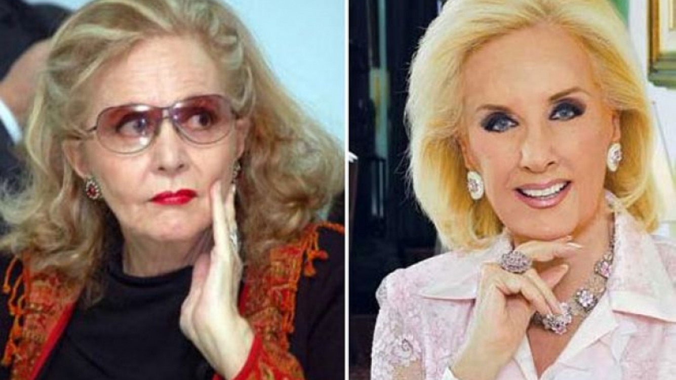 Pinky y Mirtha Legrand. (Foto: Web)