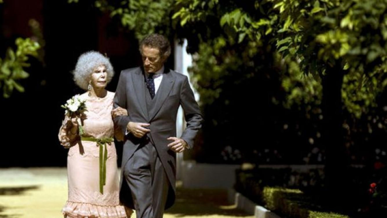 La duquesa de Alba y su marido. (Foto: Web)