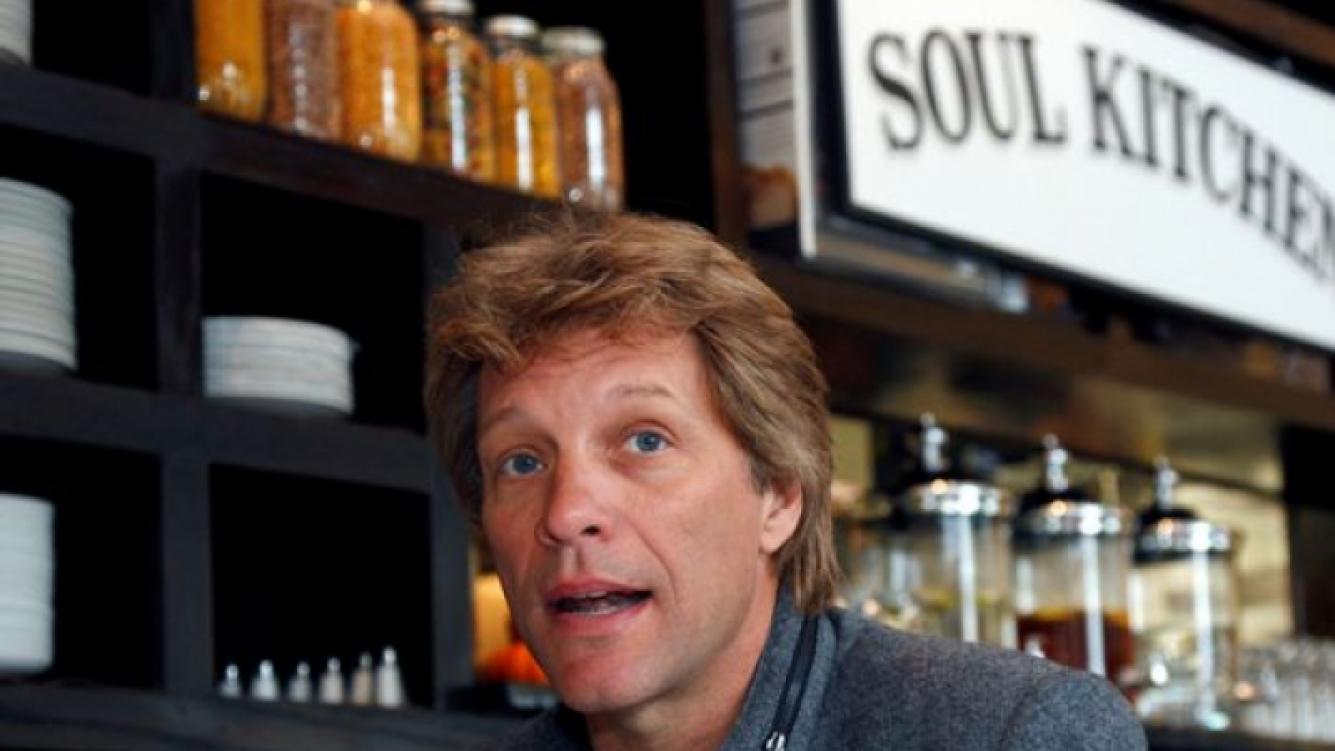 """Bon Jovi abrió un restaurante de """"comida solidaria"""". (Foto: Web)"""